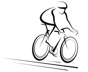 Male Cyclist Color