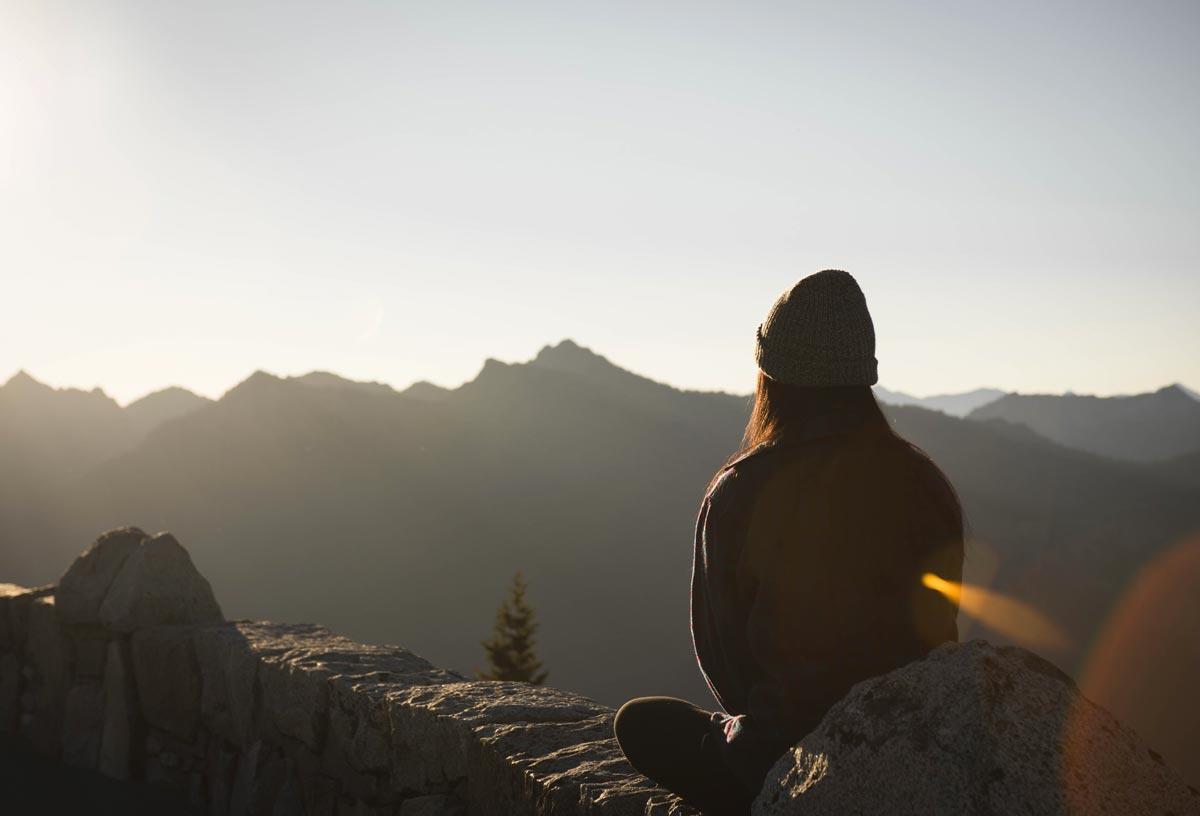 goodencenter Meditation and Mental Health photo of a woman meditating